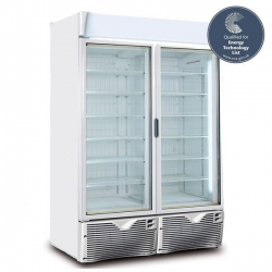 Framec Green Emotion Double Door Display Freezer