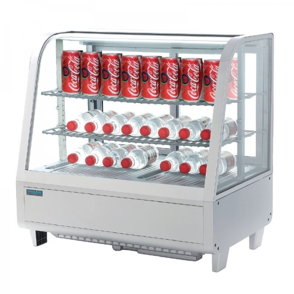 Polar Counter Top Refrigerated Merchandiser White