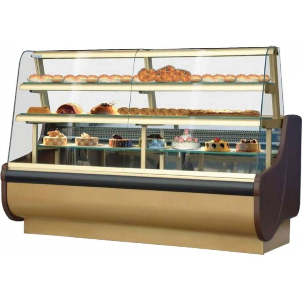 Igloo Beta Patisserie Display Counter in Gold