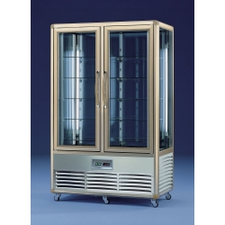 Tecfrigo Continental 700RQ 700 Litre Rotating and Fixed Shelved Double Door Cake Display