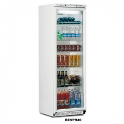 Mondial Elite BEVPR40 Upright Display Fridge