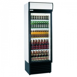 Staycold HD690 525 Litre Single Hinged Glass Door Display Fridge