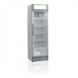Tefcold GBC375CP 374 Litre Single Glass Door Upright Merchandiser