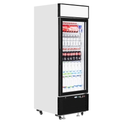 Interlevin LGC2500 496 Litre Single Glass Door Merchandiser