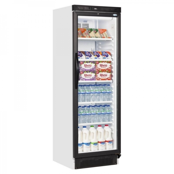 Interlevin SC381 Upright Display Fridge