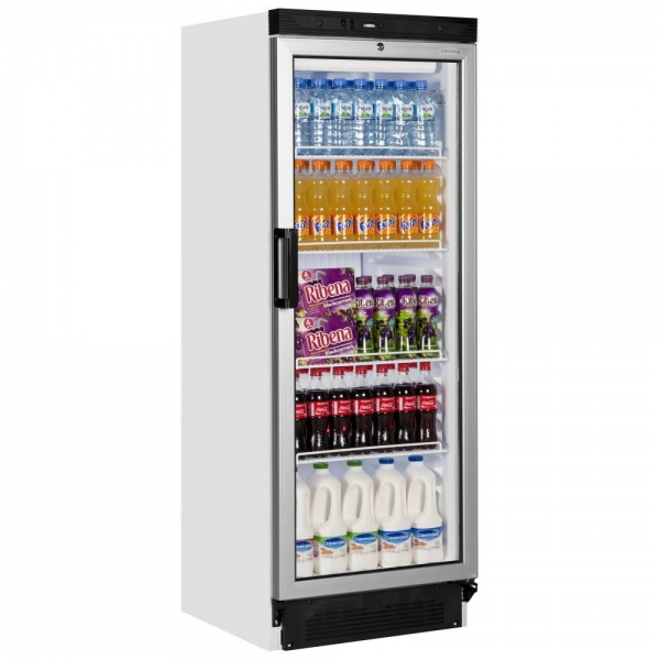 Tefcold FS1280 Glass Door Display Fridge