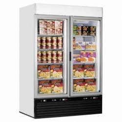 Iarp EIS110 Double Glass Door Display Freezer