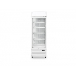 Prodis XD1PW White Heavy Duty Glass Door Display Fridge