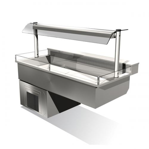 Counterline integrale icdk2 go chilled display deck for Cuisine integrale