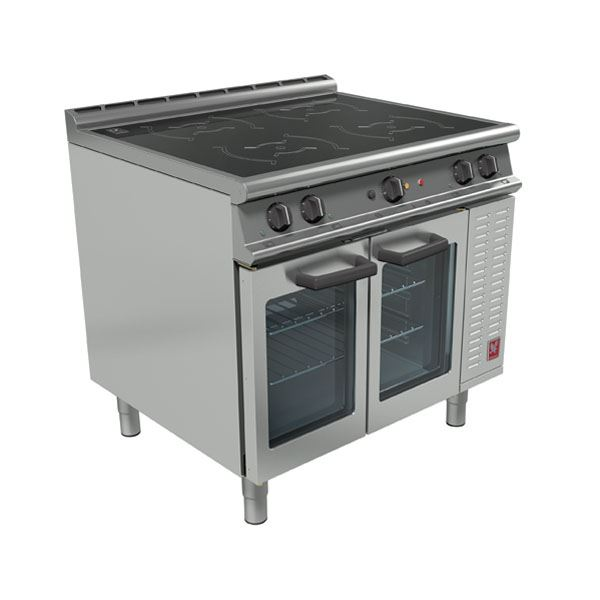 Commercial Induction Cooker ~ Falcon e i kw induction range cooker commercial