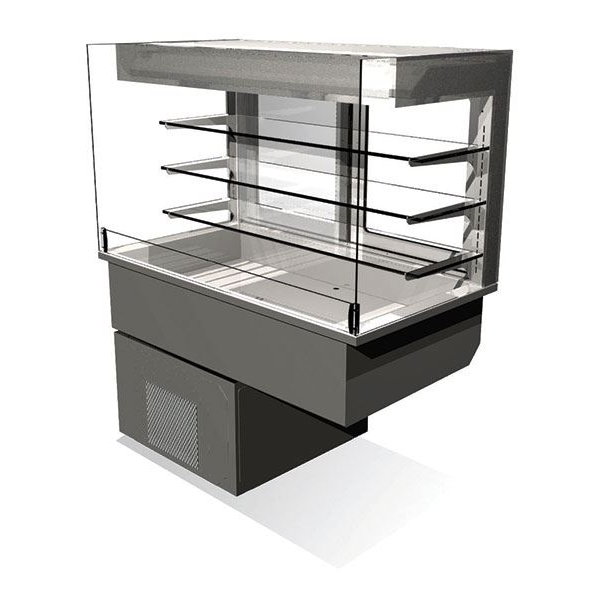Counterline Manhattan MC3ASMD4-GO 3 Tier Chilled Drop-In Multideck