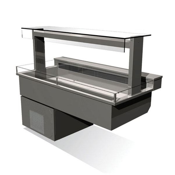 Counterline Manhattan MCDK6-GO Chilled Display Deck
