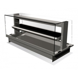 Counterline Manhattan MHDL2-GO 2 x 1/1 GN Heated Display Deli