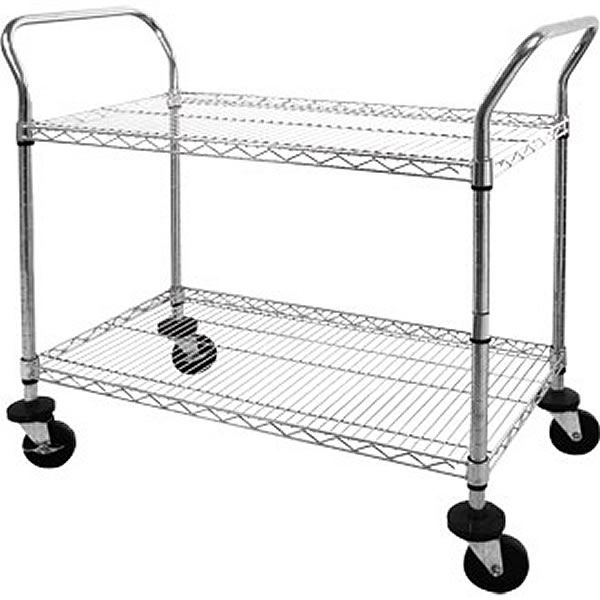 Vogue CC430 Two Tier Clearing Trolley