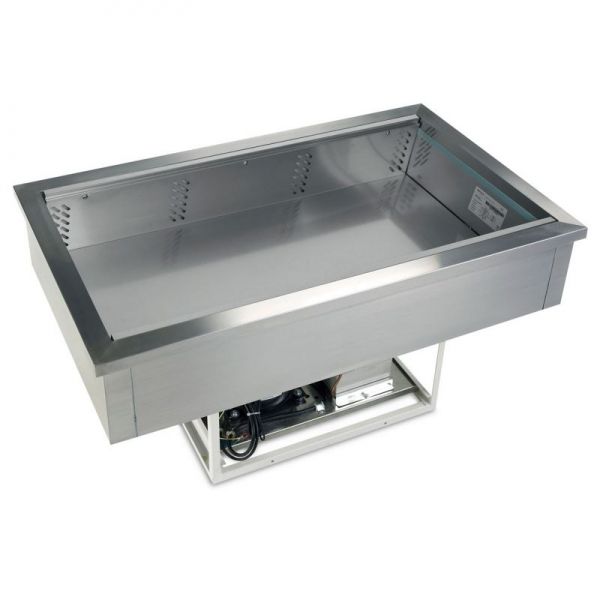 Tefcold CW2V Stainless Steel Buffet Display