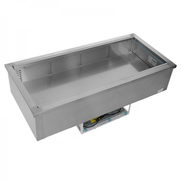 Tefcold CW4V Stainless Steel Buffet Display