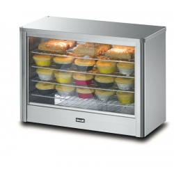 Lincat LPW/LR 0.7m Heated Pie Cabinet with Humidity Control