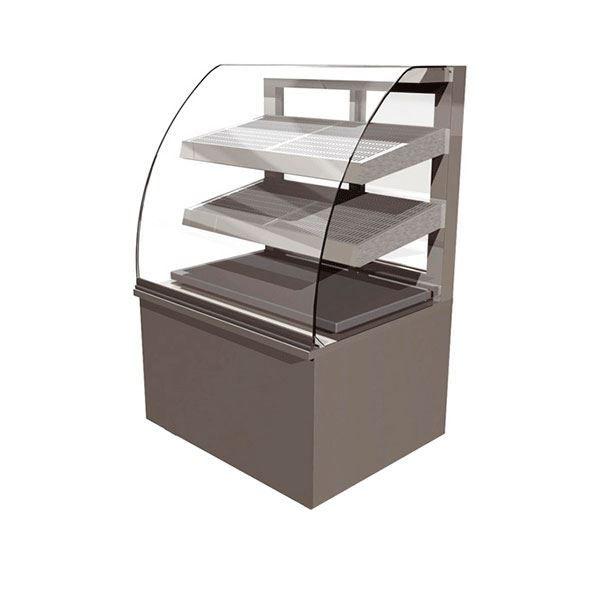 Counterline Vision VH900-GO 0.9m Heated Assisted Service Cabinet