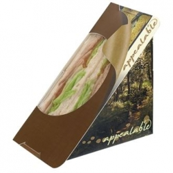 Sandwich Wedge Self Seal Pack - Woodland (Pack of 500)