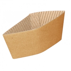 Corrugated Cup Sleeves for 12/16oz Cups (Pack of 1000)