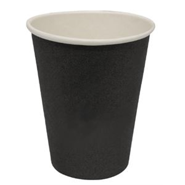 Olympia Disposable Hot Drinks Cups Black 16oz