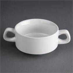 Athena Hotelware 12 Pack CF369 Stacking Soup Bowls