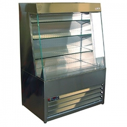 Frost Tech SLD60-100 1.0m Stainless Steel Low Height Multideck