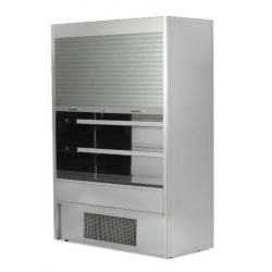 ES System K Vera-RCV100SHU 1m Slimline Stainless Steel Shutter Multideck