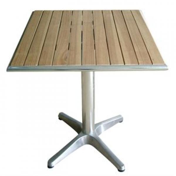 Bolero Square Ash Top Table