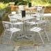 Bolero Ash Top Square Table