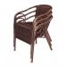 Bolero CB061 Wicker Armchair (Pack of 4) Stacked