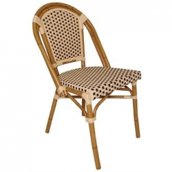 Bolero Continental CF402 Bistro Wicker Sidechair (Pack of 4)