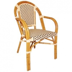 Bolero Continental CF401 Bistro Wicker Armchair (Pack of 4)