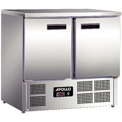 Apollo 2 Door 0.9m Refrigerated Counter