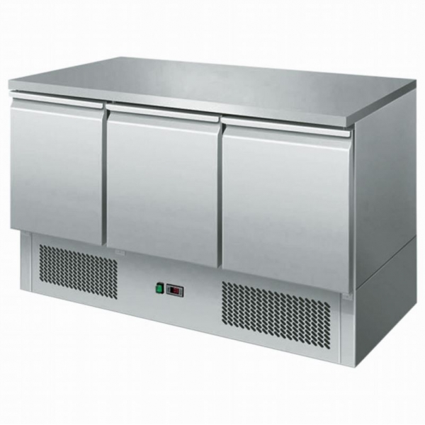 Interlevin ESL1365 Range Gastronorm Refrigerated Counter