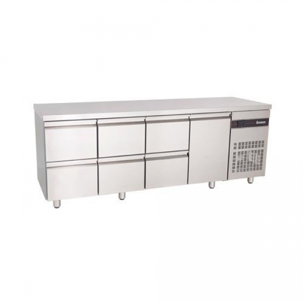 Inomak PN2229 Fridge Counter with Drawers