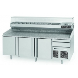 Infrico MP1740CRISTAL 1.8m Pizza Counter