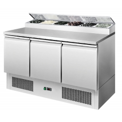 Interlevin ESS1365G 1.4m Gastronorm Preparation Counter