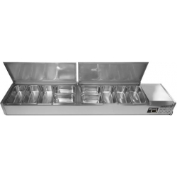 Blizzard TOP2000EN 2.0m Counter Top Preparation Unit