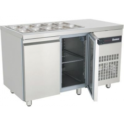 INOMAK ZN99 Double Door Saladette Counter
