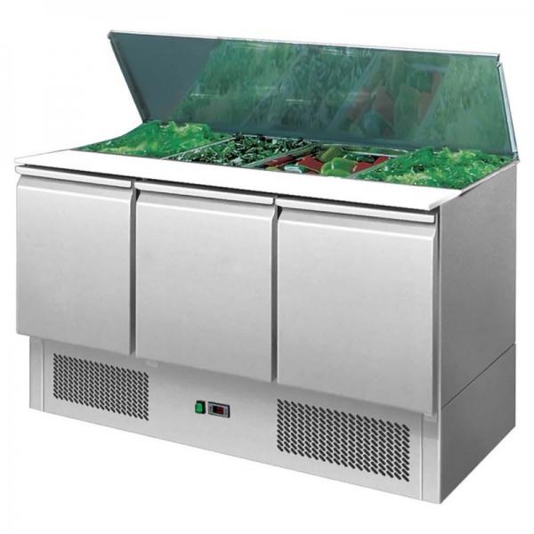Interlevin ESA1365 Range Gastronorm Saladette Counter