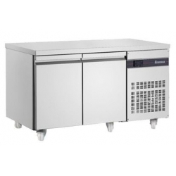 INOMAK SL99 Double Door Slim Fridge Counter