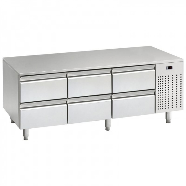 Mercatus U1-1600 Low Height Stainless Steel Gastronorm Counter