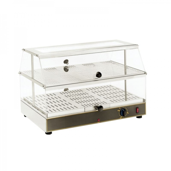 Roller Grill WD200 Double Shelf Heated Electric Display