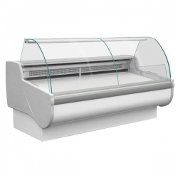 Igloo Tobi 170 1.7m Curved Glass Serve Over Counter