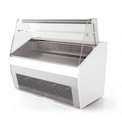 Valera PRONTO CG128 1.3m Curved Glass Serve Over Counter