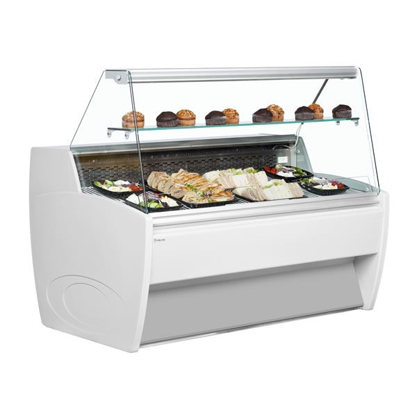 Frilixa Vista 90° EXT Corner Flat Glass Serve Over Counter