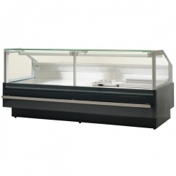 ES System K Tucana TUC125FG Flat Glass Serve Over Counter