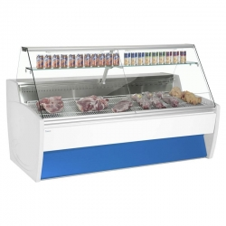 Frilixa Maxime 15 1.5m Fresh Meat Flat Glass Serve Over Counter