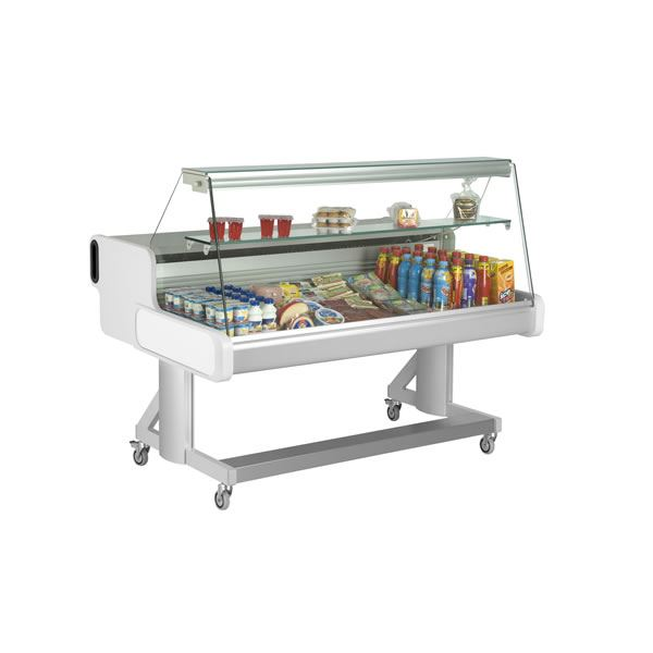 Frilixa Celebrity 100 Flat Glass Mobile Counter Display